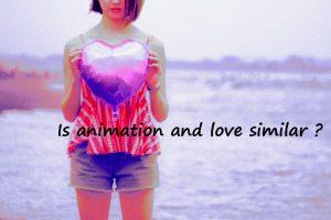 アニメと愛は似ていませんか。画像